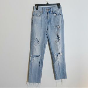 Madewell Perfect Vintage Jean Destroyed F6246 12W2